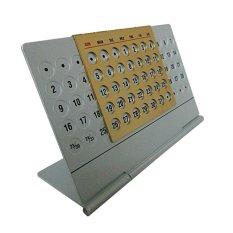 Aluminum Pertual Calendar Small By Progiant.