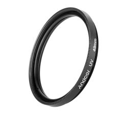 Andoer 49mm Uv Ultra-Violet Filter Lens Protector For Canon Nikon Dslr Camera - Intl By Tomtop.