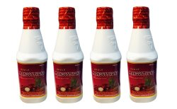 Arago Mangosthone with Cinnamon Bark Extract 500ml, Set of 4