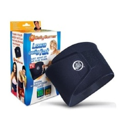 As Seen On TV Lose Belly Fat Slimming Belt (Black)
