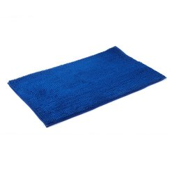 Aspire Large Luxury Bath Mat Bathroom Essential (Blue)