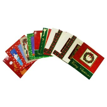Assorted Christmas Greeting Cards set of 12