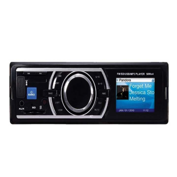 auto car stereo audio in dash fm aux input receiver sd wma. Black Bedroom Furniture Sets. Home Design Ideas
