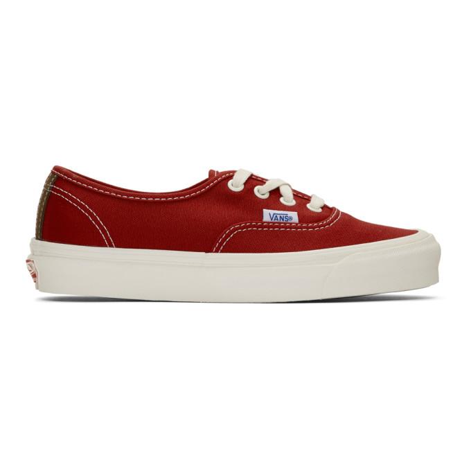 Vans Vault OG Authentic LX Red Chili
