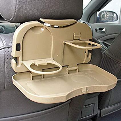 Portable Car Travel Dining Tray Organizer - Beige By Just4u By Just4u.
