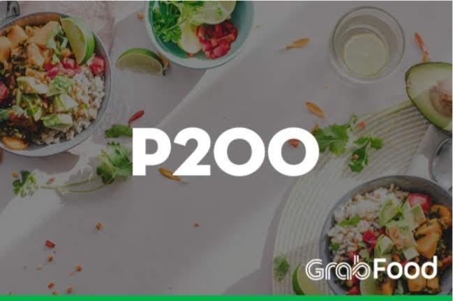 GrabFood Promo Code 200