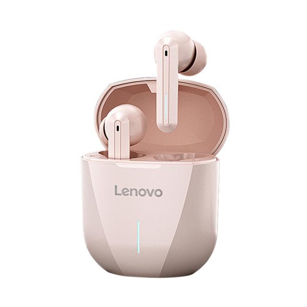 Tai nghe chơi game Lenovo XG01 Tai nghe âm thanh nổi không dây thực sự trong tai BT5.0 với Chế độ chơi game 50ms / Trình điều khiển 12mm / Tai nghe chống nước AAC + SBC / LED Light IPX5 với MIC Tương thích với iOS Android