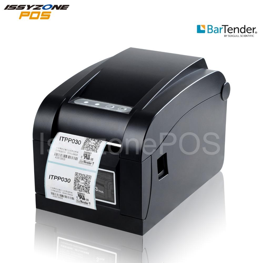 ISSYZONEPOS 3 inch (80mm) Thermal Bar code Sticker Price Label Maker  Printer FREE BarTender Barcode Software TSC Command For Shipping Label  Sticker