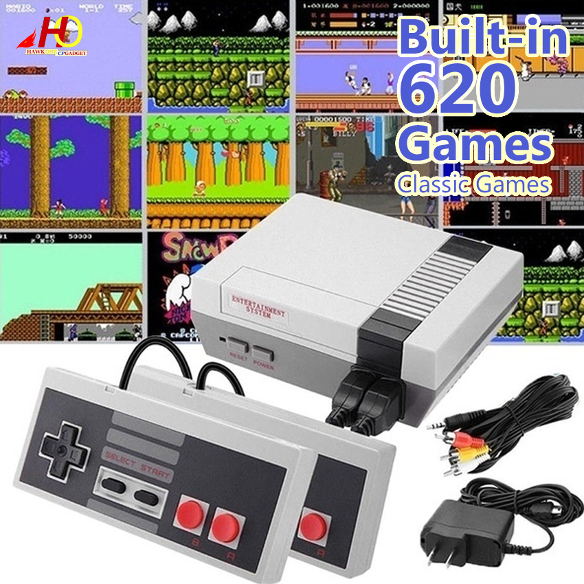 Mini Game Anniversary Edition Entertainment System With 620 Built In Classic Games Mini Retro Game Lazada Ph