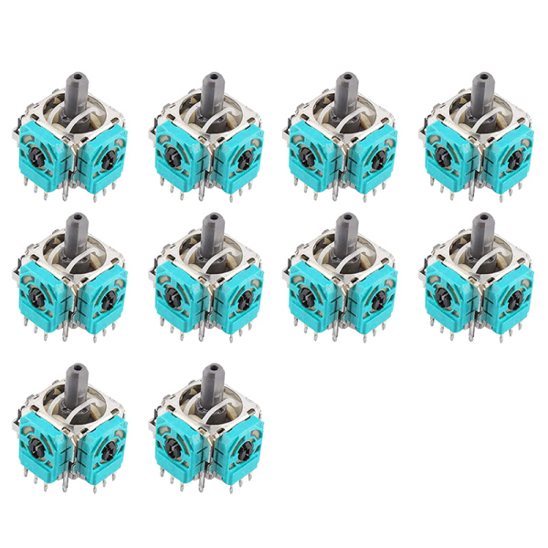 Giá 10 Pack 3D Joystick Axis Analog Sensor Analog Module Replacement for Xbox One Game Console Controller