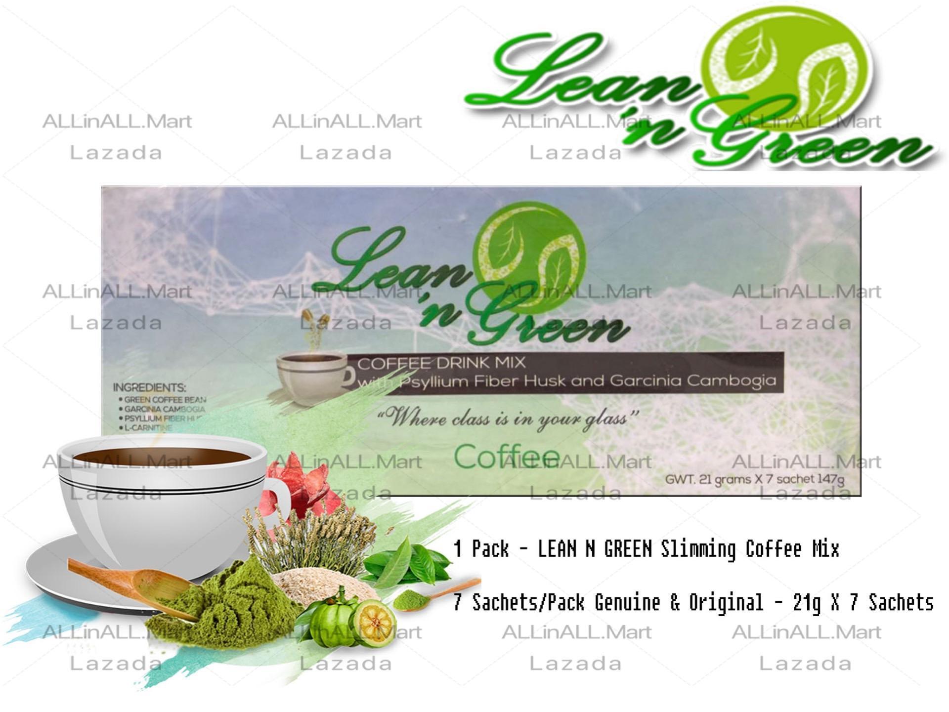Allinall Mart 100 Original Lean N Green Slimming Coffee