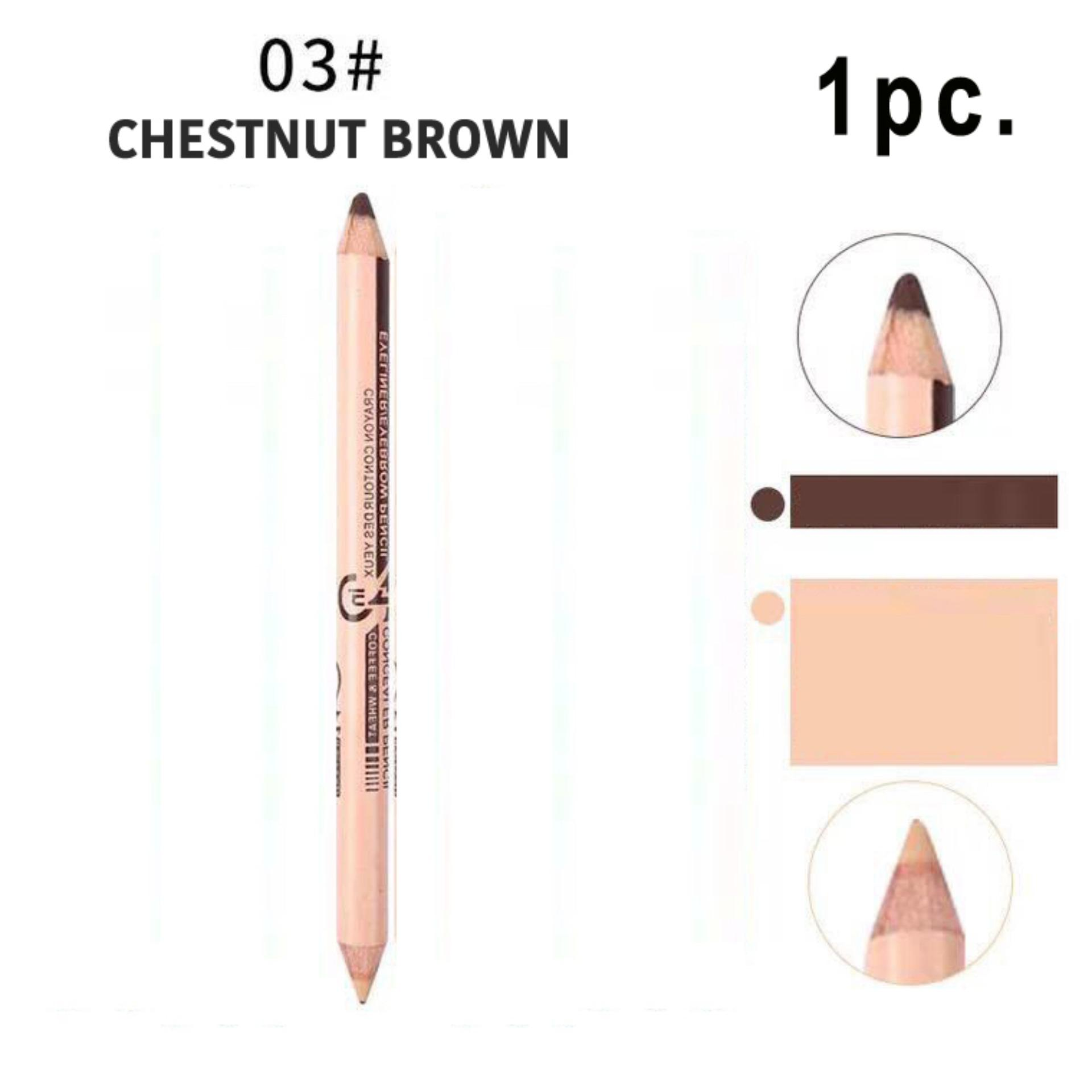 2in1 Eyeliner/eyebrow And Concealer Pencil - Chestnut Brown (1 Pieces) By Lowest Price Guaranteed.