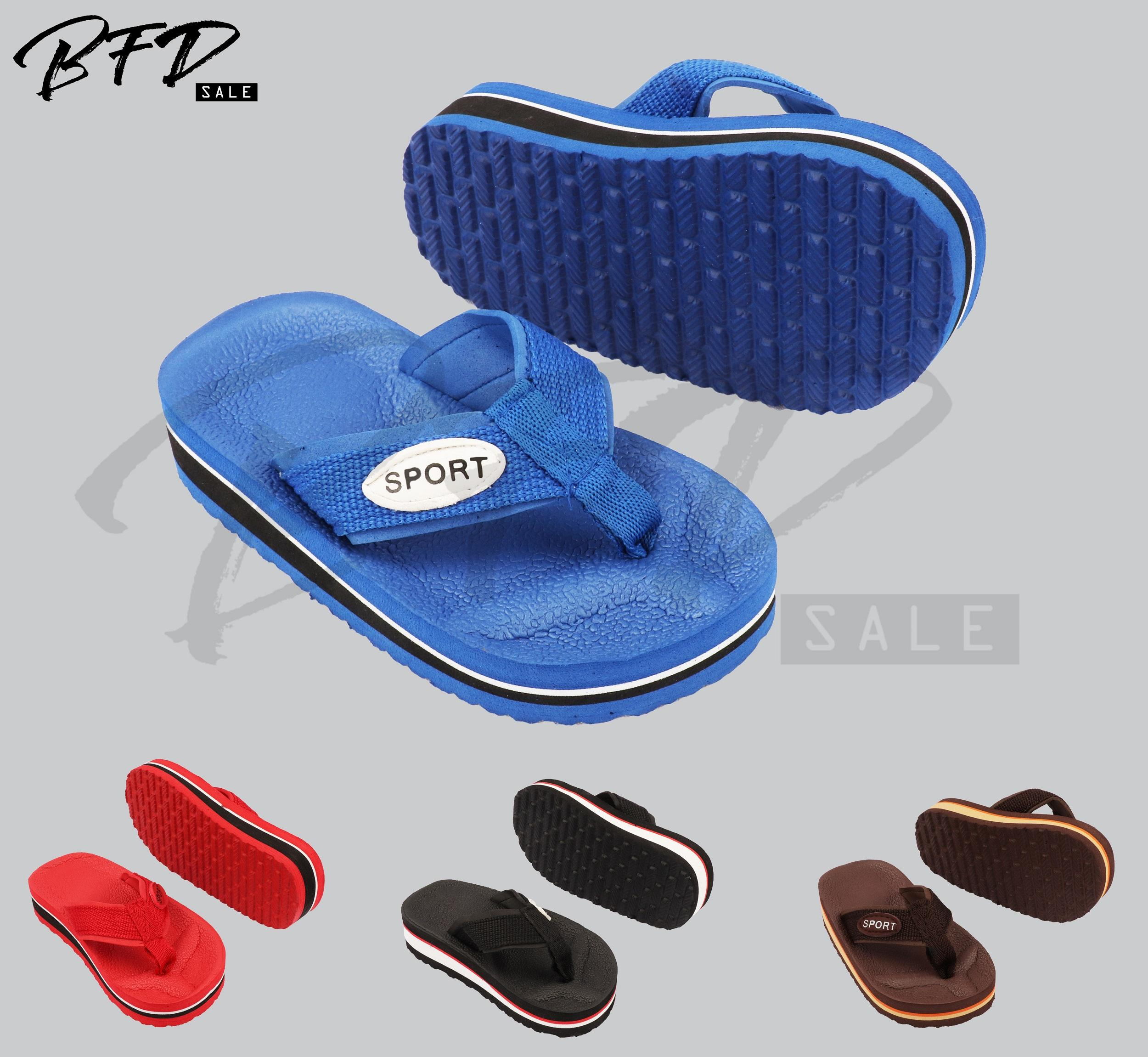 Big Sale Kids Boys Slipper Kids Flip Flops 519d-1 By Direct Factory Sales.