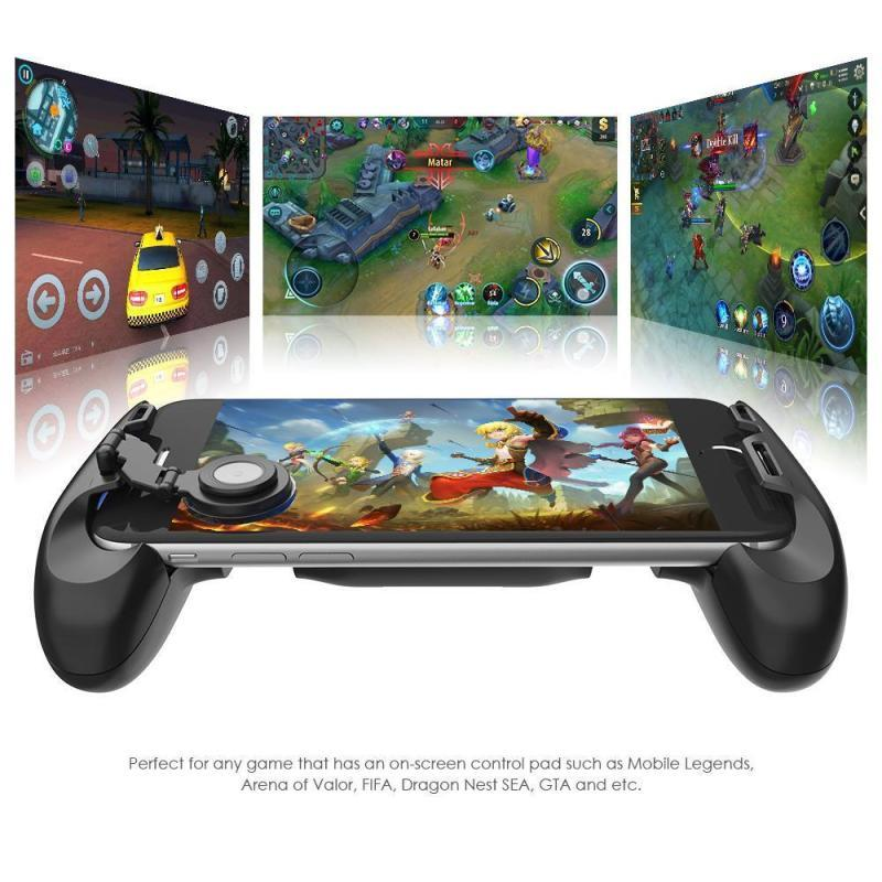Gamepad Jl01 Game Joystick Grip Extended Handle Game Controller Mobile By On-Lemon.