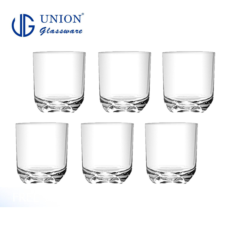 Union Glass Tumbler 8oz 6pc Set