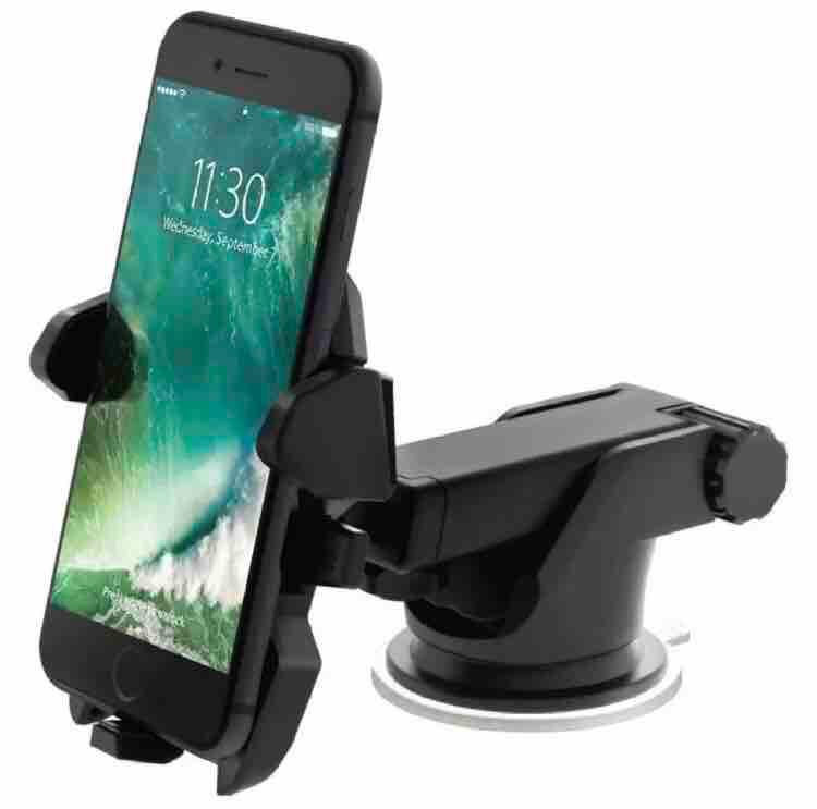 26be9f31dba3b4 Car Mount Easy Stick Long Neck One Touch Cellphone Holder (Phone not  included) (