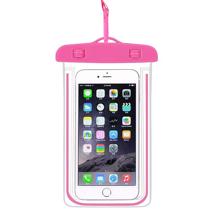 Glow in the Dark Luminous Waterproof phone Case Cover Underwater Dry Bag Pouch for iPhone and