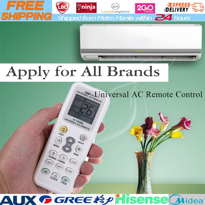 Universal AC Remote Control Apply for All Brands K-1028E Low Power  Consumption K-1028E Universal AC Remote Air Condition Remote LCD A/C Remote  Control