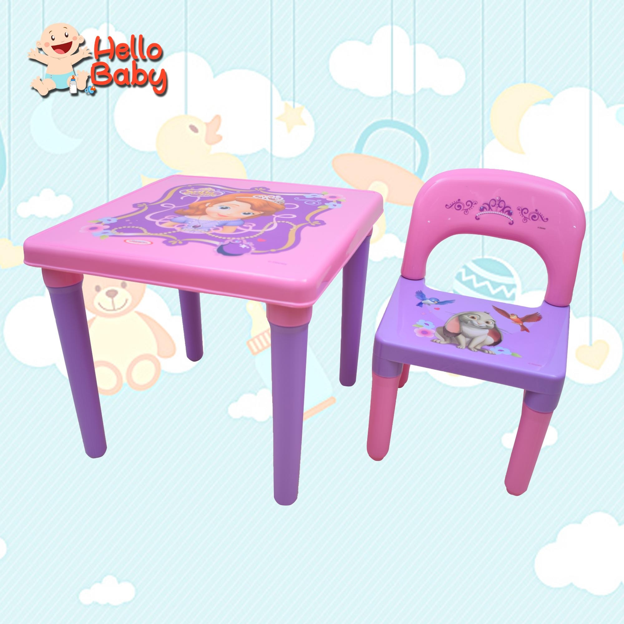 Prime Hello Baby Vf0318 Character Table And Chairs Interior Design Ideas Gresisoteloinfo