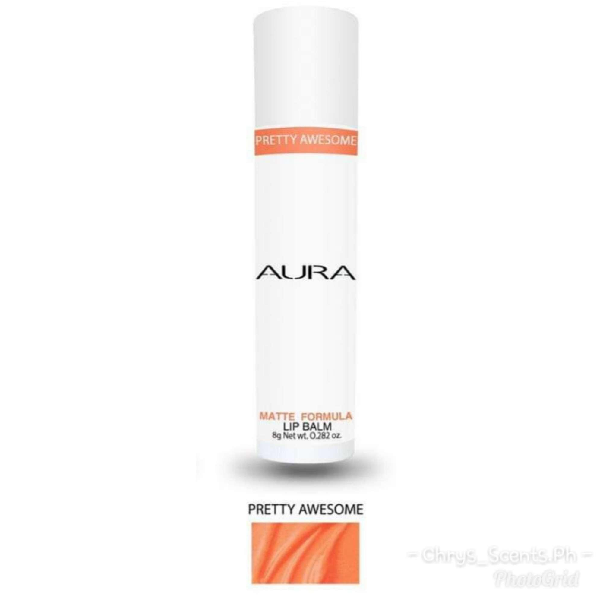 Aura Matte Lip Balm Made with Organic Material and DFA Approved Ingredients Philippines