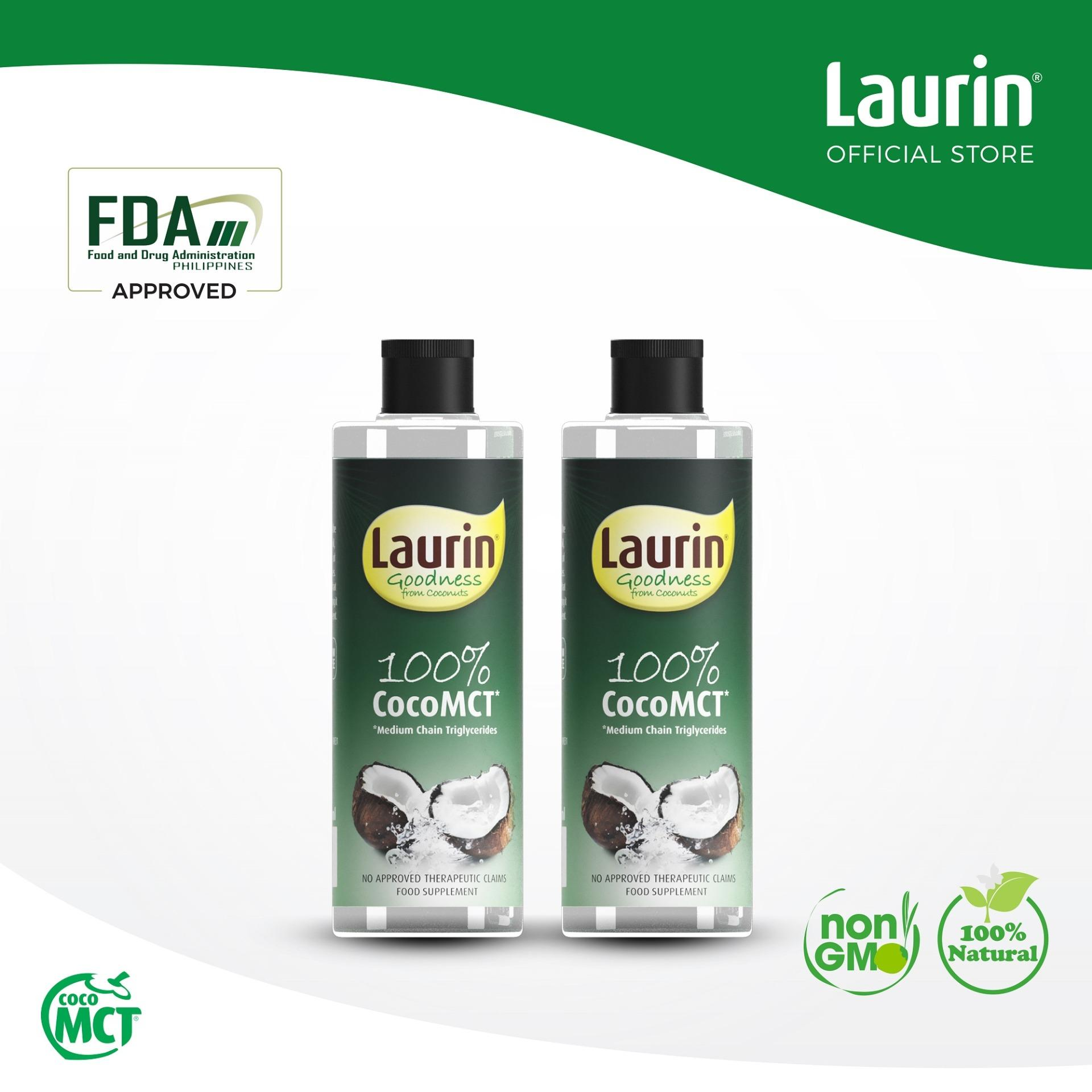Laurin 100% Coco MCT Oil from Coconut Oil 150ml x 2