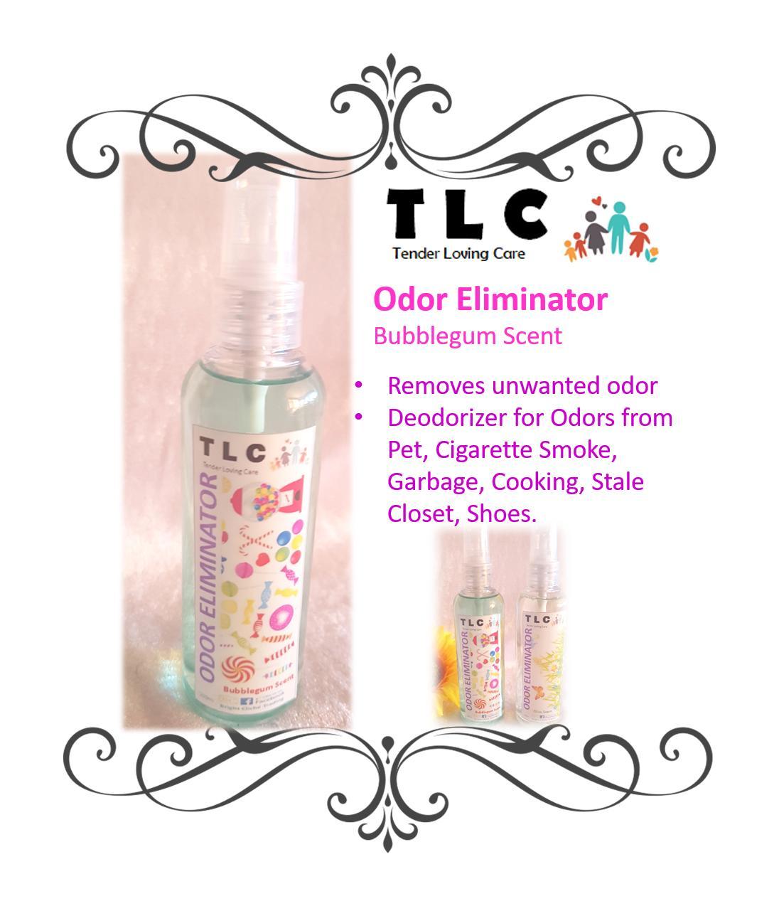 Odor Eliminator With Disinfectant - Bubblegum Scent 100ml By Bright Cliche.