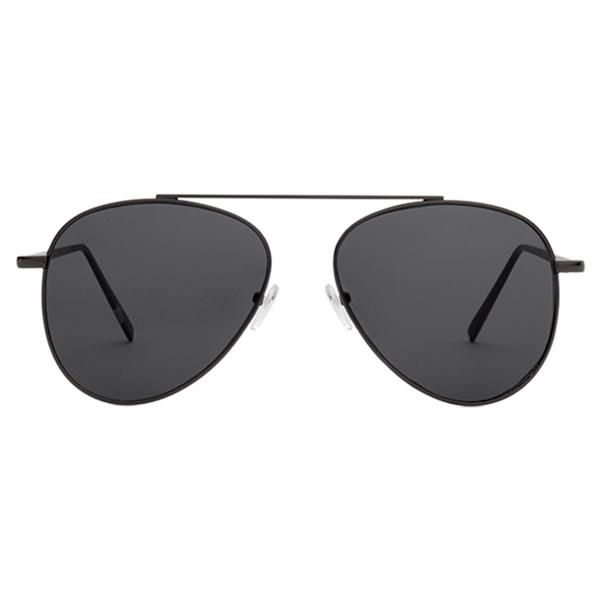 40455af58be Sunnies Studios Lukas Pilot Sunglasses for Men and Women (Ink Full)