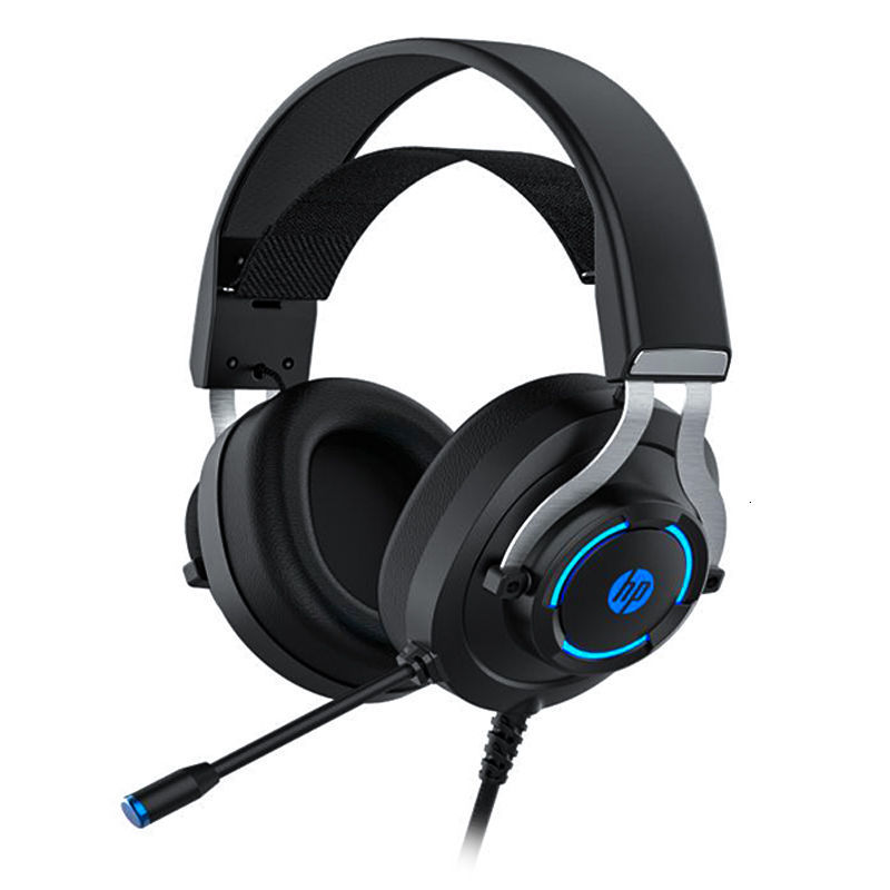 HP / HP h360g wired game luminous 7.1 E-sports eating chicken cflol Internet cafe headset headset WXZ0 Singapore