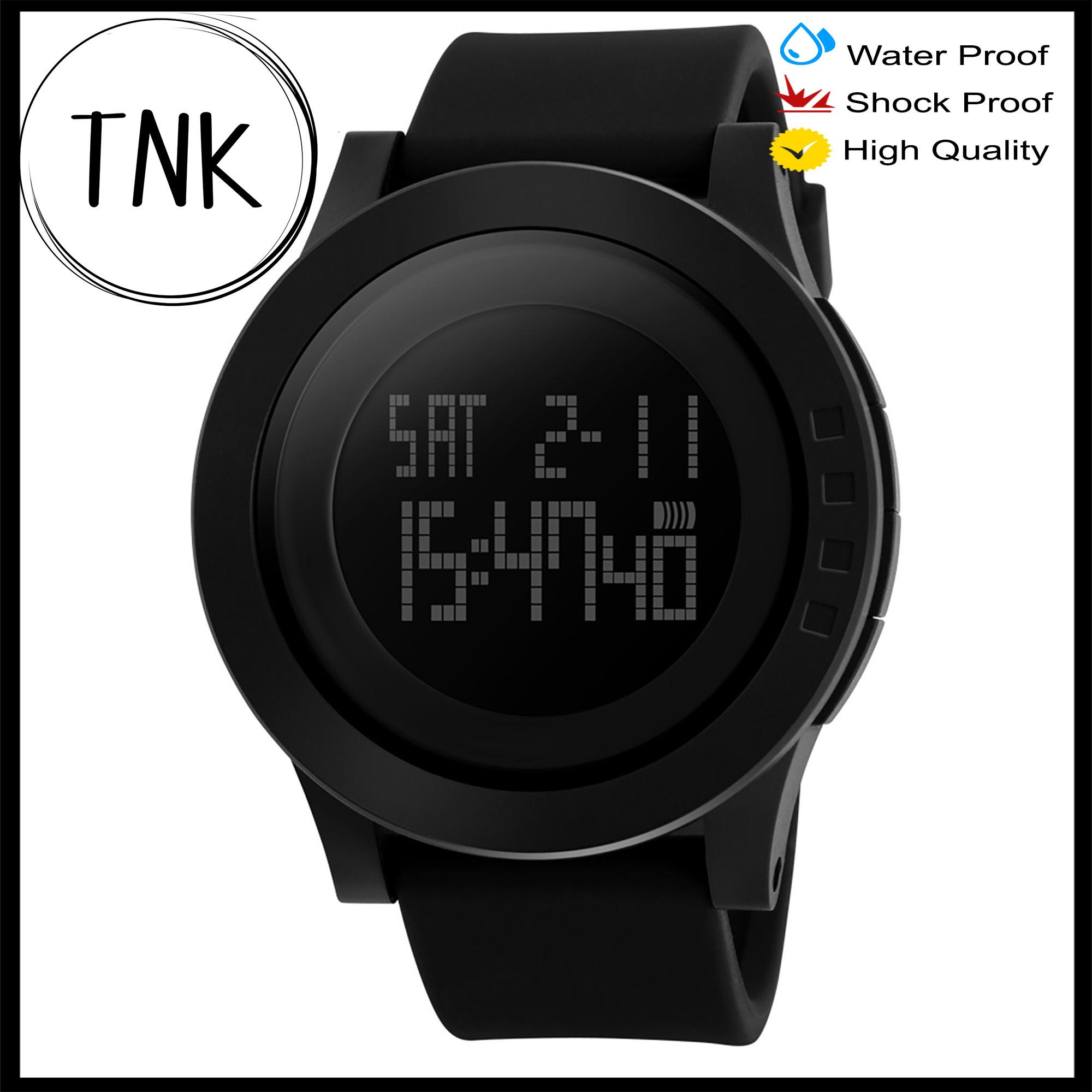 6098f4e5cacd SKMEI 1142 BLACK Watch Men Military Sports Watches Fashion Silicone  Waterproof LED Digital Watch For Men