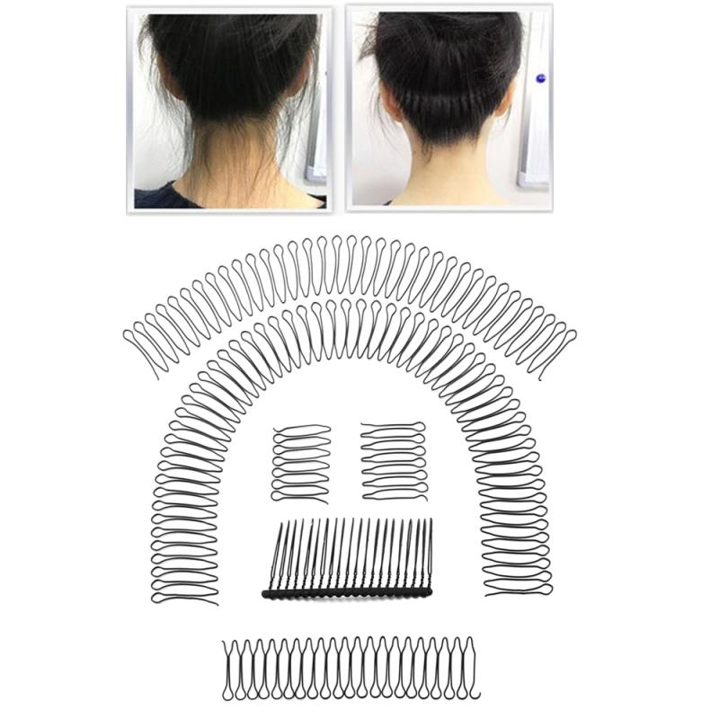 op7hlm25x 6 cái / bộ Răng để giữ thêm Kẹp hoàn thiện tóc U Định hình Kẹp tóc hình chữ U giá rẻ