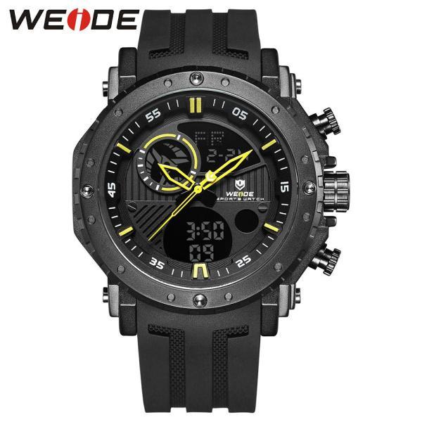 Nơi bán WEIDE wh6903 hiển thị kép hai chuyển động đồng hồ đeo tay thạch anh kỹ thuật số 3ATM thể thao chống nước tuần tháng lịch tự động ngày giờ báo thức đồng hồ bấm giờ đồng hồ bấm giờ 24 giờ SPL Split Time Đồng hồ đeo tay