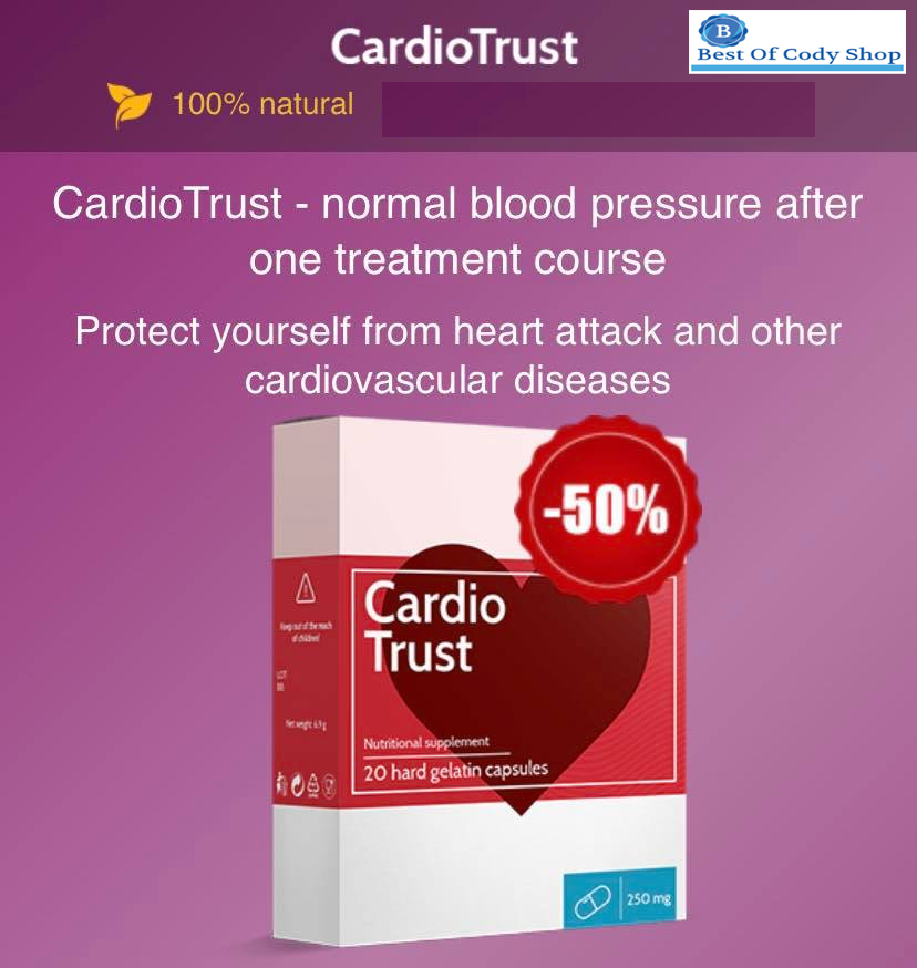 Original New Cardiotrust For Hypertension Treatment Usa