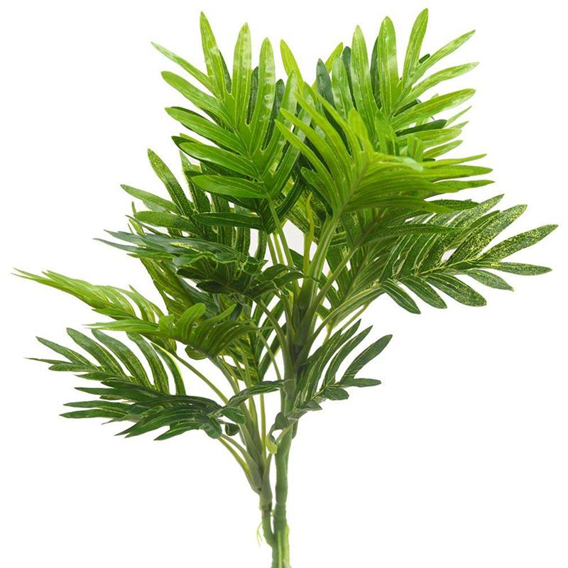 Artificial Plants Palm Greenery Tree for Home Decor,Garden,Patio Decoration Set of 2