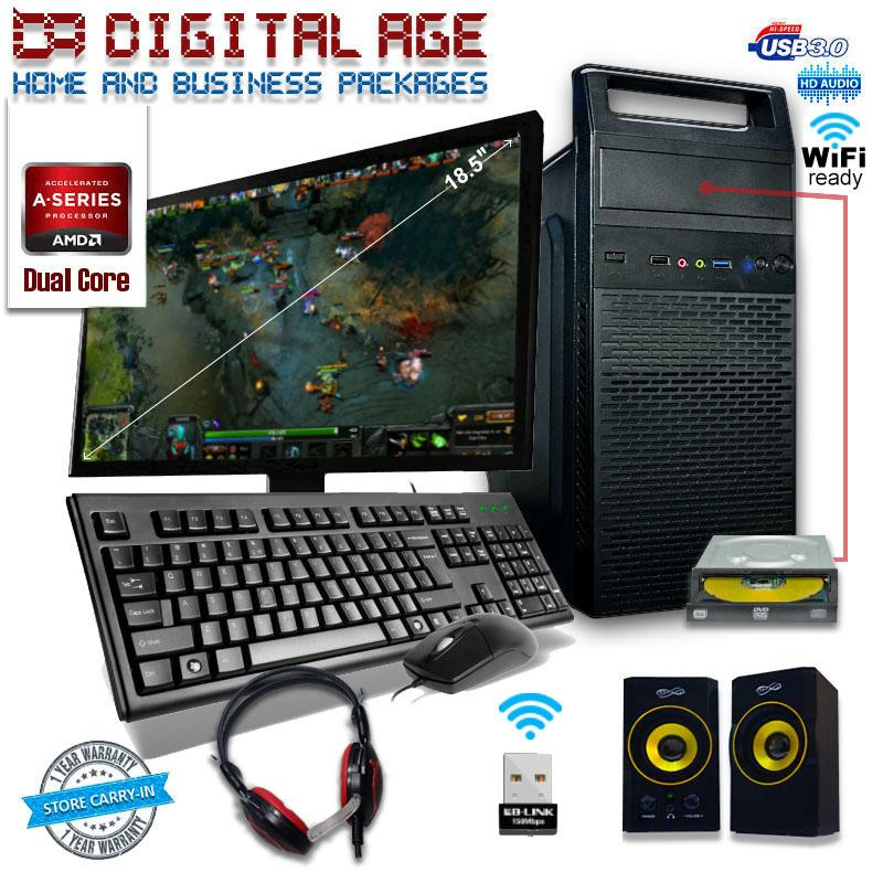 Fortress Essential-WDVD Gaming PC Package
