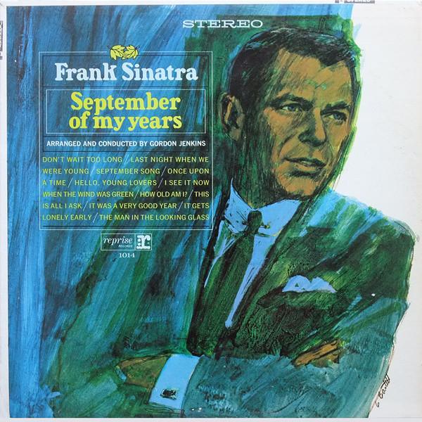 Frank Sinatra - September Of My Years Plaka LP Record Vinyl   Lazada PH