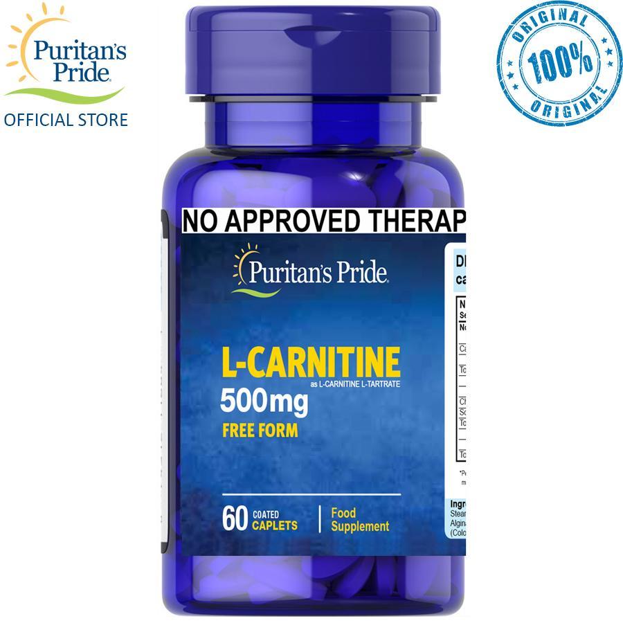 Puritan S Pride L Carnitine 500mg 60 Tablets