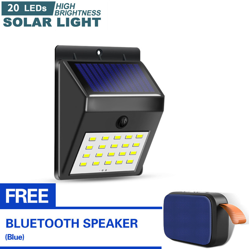 With Free Bluetooth Speaker Original, Outdoor Wall Light With Bluetooth Speaker