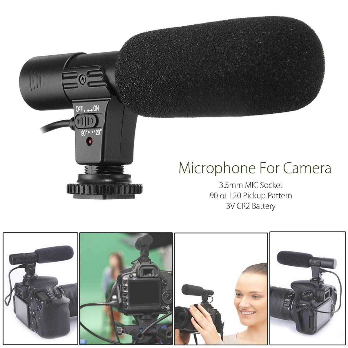 【free Shipping + Flash Deal】3.5mm Direction External Microphone For Canon Nikon Dslr Camera Dv Camcorder - Intl By Freebang.