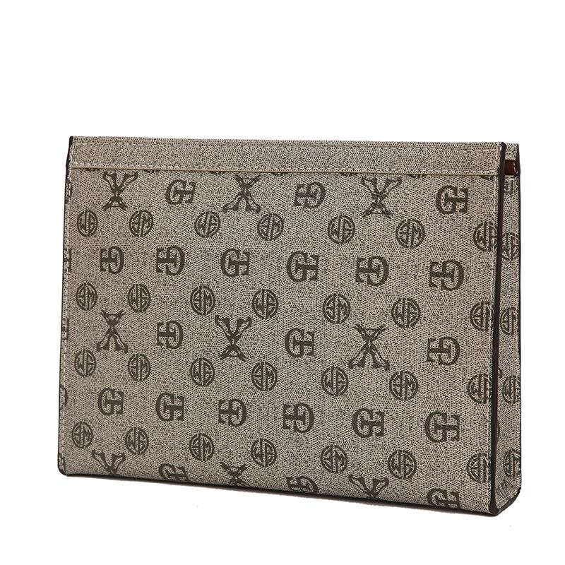 CLASSIC Business Casual Mens Handbag New Style Men And Women Envelope Trend Clutch Bag IPAD Package File Bag Fashion