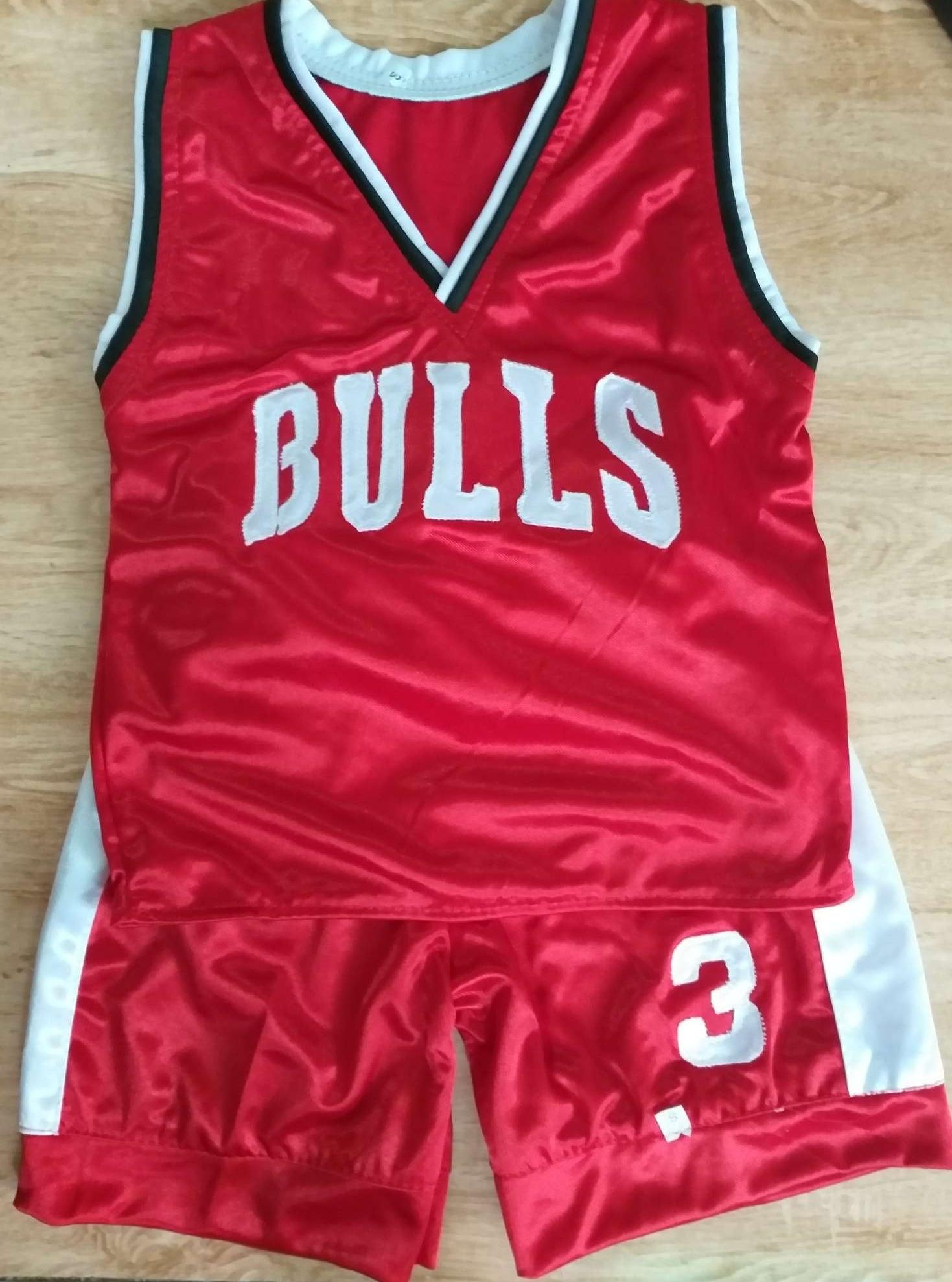 brand new 573e7 49683 Bulls & Warriors Jersey for kids boys 1-3 years old