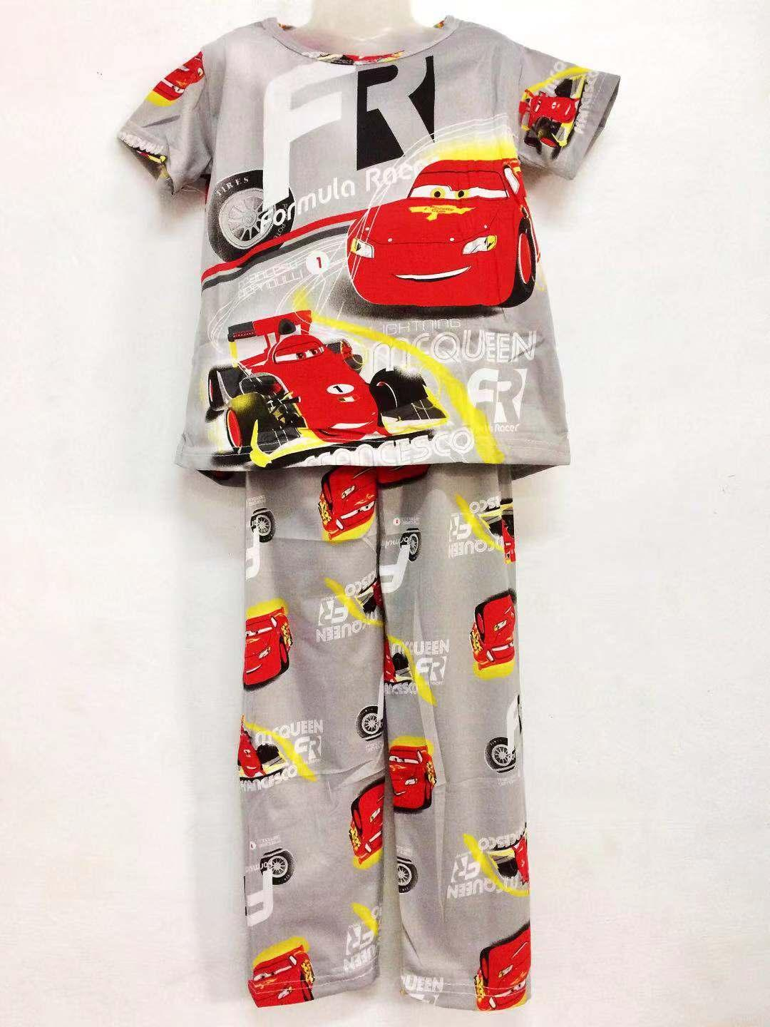 Xuebami Sleepwear Pajama Terno Set For Boys Kids Character Cars By Xuebamiph.