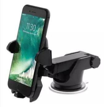 Car Mount Easy Stick Long Neck One Touch Cellphone Holder (Phone not included) (
