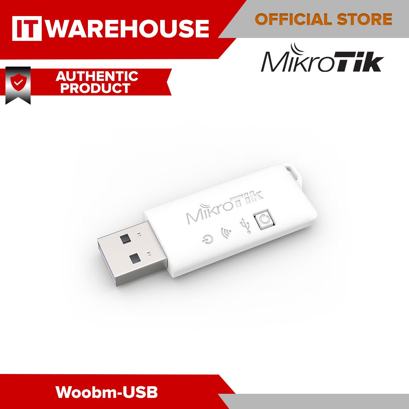 Woobm-USB Mikrotik Wireless Out of Band Management USB Stick 2.4 GHz Standard