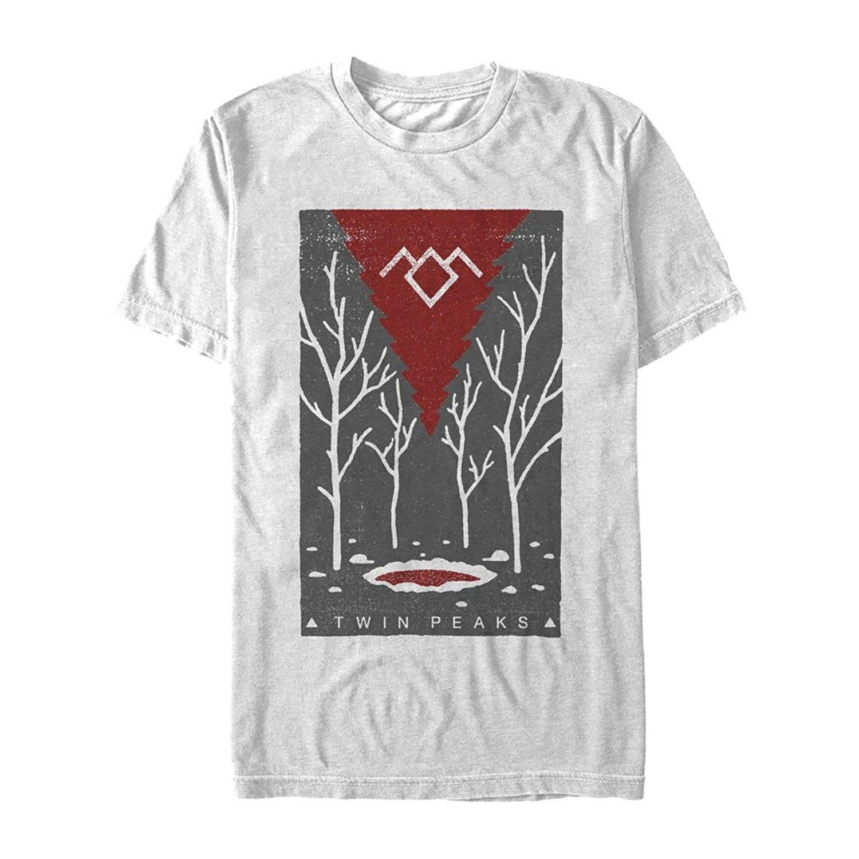 6aca3a07 Mens T Shirt Fifth Sun Twin Peaks Black Lodge Graphic Man Fashion Cotton  Tops Grey Size