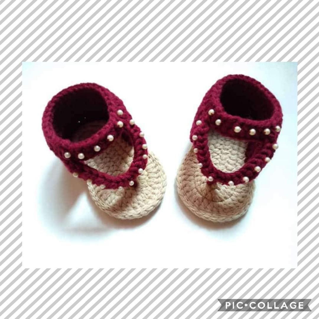 a5441dd381104 Baby Sandals (crochet)