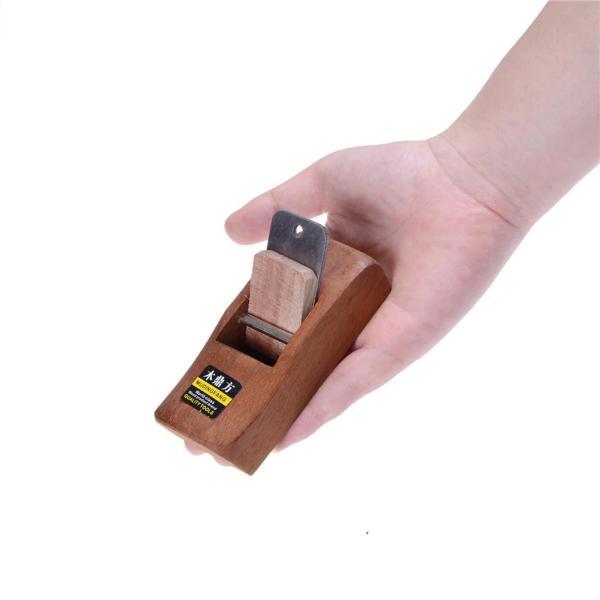 QIA Woodworking Flat Plane Wooden Hand Planer Mini Carpenter Woodcraft DIY Tool