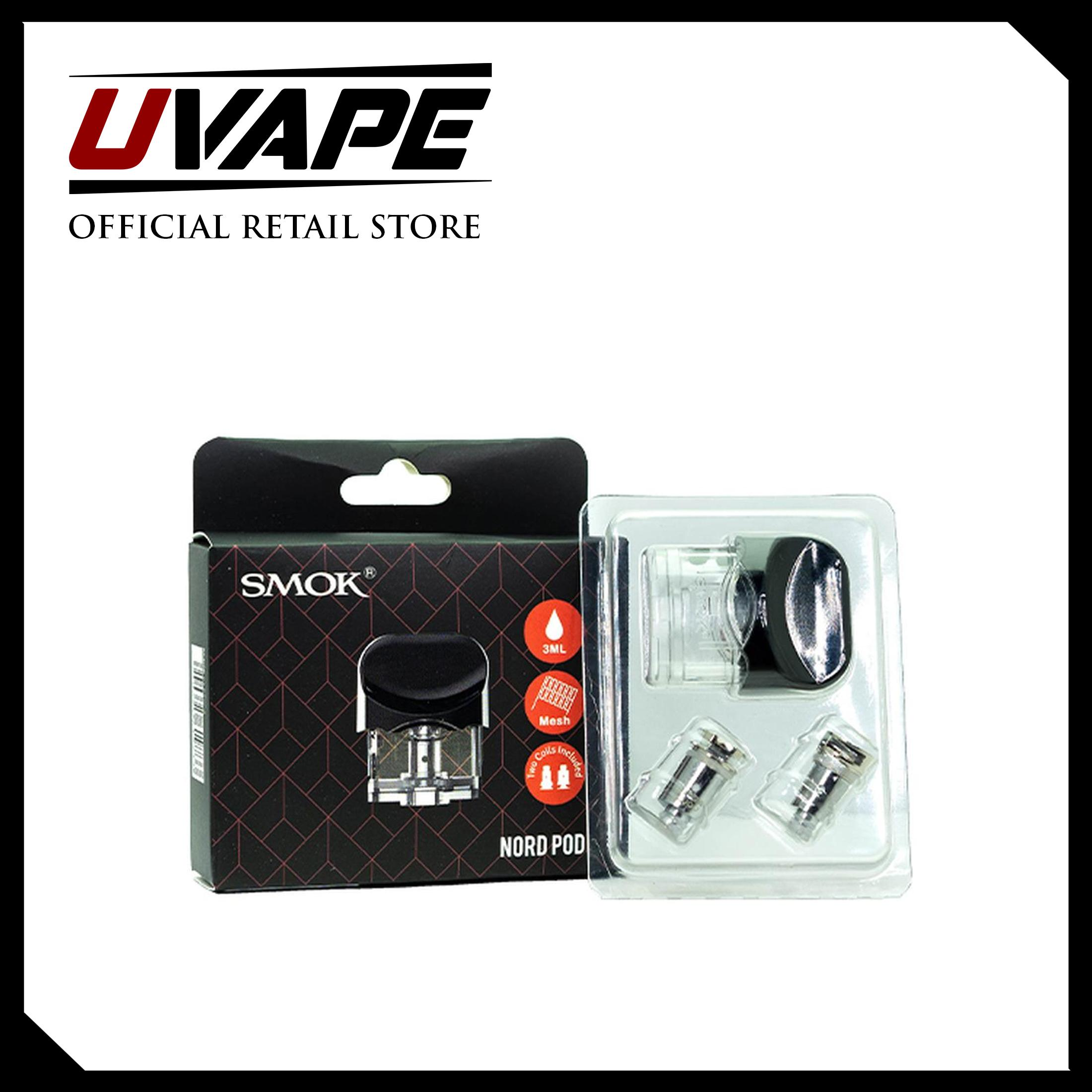 SMOK Nord Replacement Pod ( 1 pod+2 coil) (3ml) UVAPE