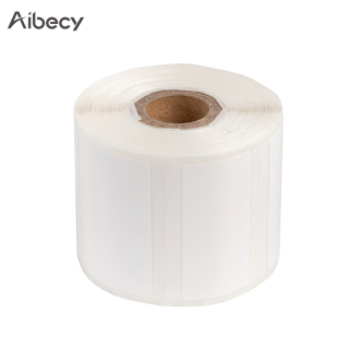 Aibecy Self-Adhesive Thermal Paper Roll Name Size Price Label Paper 30 15mm 400sheets roll Compatible with Phomemo M110 Thermal Printer thumbnail
