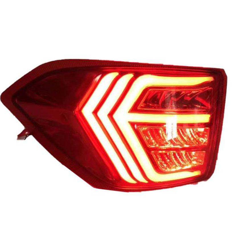 Right Side Rear Bumper Tail Lights Set of Left
