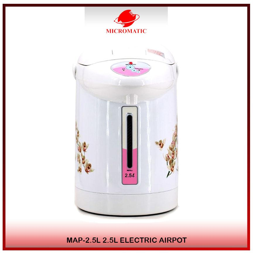 Micromatic Map-2.5l Electric Airpot 2.5l (white) By Micromatic.